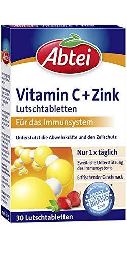 Abtei Vitamin C plus Zink, 1er Pack (1 x 30 Tabletten)