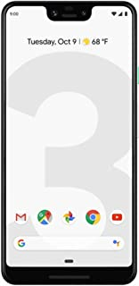 Google Pixel 3 XL 64GB Unlocked GSM & CDMA 4G LTE Android Phone w/ 12.2MP Rear & Dual 8MP Front Camera - Clearly White (Re...