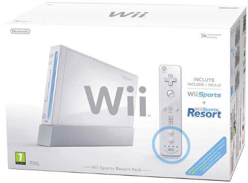 Wii Sports Resort Pack White+Telec Plus