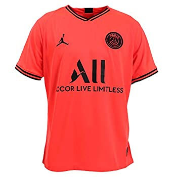 Nike Men s Paris Saint-Germain PSG x Jordan 2019/20 Away Soccer Jersey  Large
