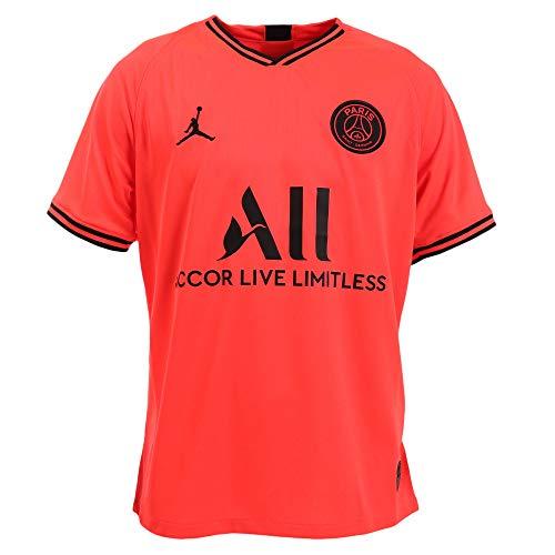 Nike Herren Teamtrikot PSG Breathe Stadium Auswärt Trikot, Infrared 23/Black, XL, AJ5552