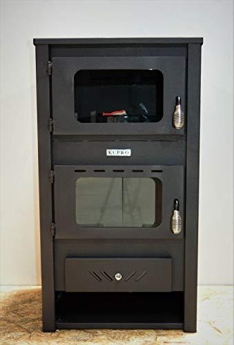 Stufa a legna con forno cottura a legna camino 14 kw