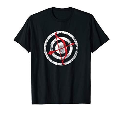 Bogenschießen Bogenschütze Bogen & Pfeile Zielscheibe T-Shirt