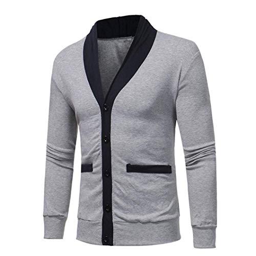 Nvfshreu gebreide trui voor heren