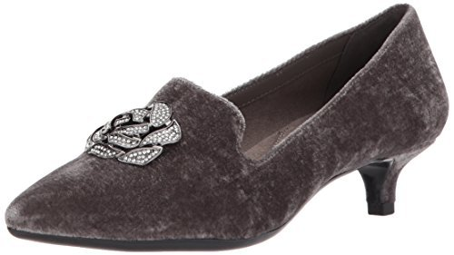 Aerosoles Women's Best Dressed Pump, Grey Fabric, 5.5 M US