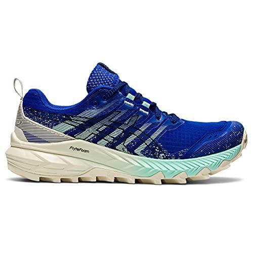 ASICS Gel-Trabuco 9, Zapatillas para Correr Mujer, Lapis Lazuli Blue Black, 43.5 EU