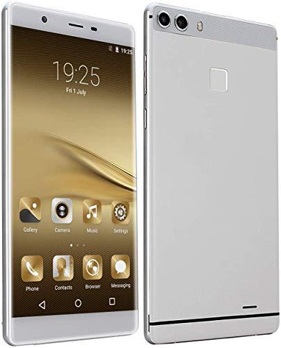 Mobiltelefone ohne SIM-Lock, 15,2 cm (6 Zoll) HD-IPS-Display, Android Go 3G Smartphones, MT6580 Quad Core, 1 RAM + 8 ROM, Dual SIM Dual Kameras Handys