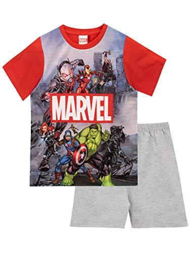 Marvel Pijamas para Niños Avengers Multicolor 5-6 años