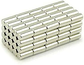 ART IFACT 100 Pieces of 6mm x 10mm of Fridge Magnets, Project Magnet (Pack of 100 Pieces)