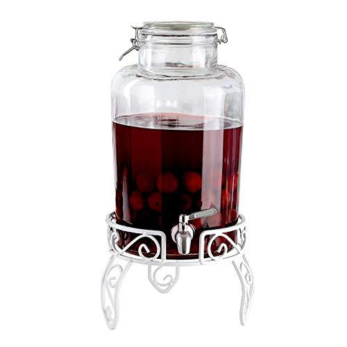 dispensador 8 litros fabricante QYJ-Mason Jar