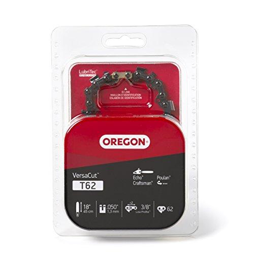 Oregon T62 VersaCut 18-Inch Chainsaw Chain Fits Echo, Craftsman, Poulan, Grey