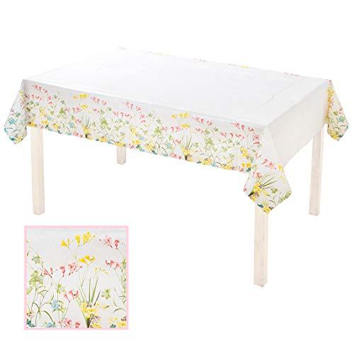 Talking Tables Truly Scrumptious Nappe en Papier à Motif Floral Vintage pour Goûter Festif et Anniversaire (180 x 120 cm)