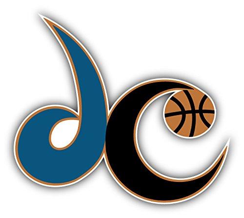 hotprint Wizards Basketball - Washington Sport Logo Car Bumper Sticker Decal