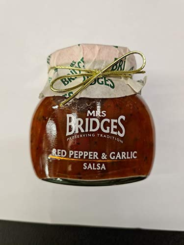 Red Pepper and Garlic Salsa 200g treat yourself or gift to someone special. Suitable for Vegan, Vegetarian and Gluten diets