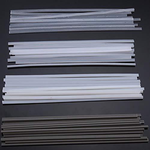 Gfpql WYanHua-Varilla de Soldadura Varillas de Soldadura de plástico no tóxicas de 50 unids, 2.5 mm * 200 mm, 200 mm de Longitud ABS/PP/PVC/PE Soldando Palos, Soldador para soldar