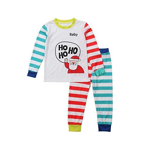 NOSSON Pyjama-Set, Klassische Streifenbekleidung Für Erwachsene Nachtwäsche Für...