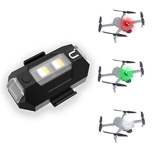 DR-02 Drone Strobe Lights,Super Lightweight Drone Anti-Collision Lights,LED Drone Lights with 3 Color Lights,Mini Strobe Lamp Made for DJI Mini/Mavic Air 2/Pro/Phantom/Inspire/Matrice
