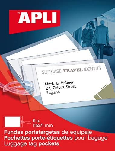 APLI 10428 - Buste per bagagli, 6 pezzi