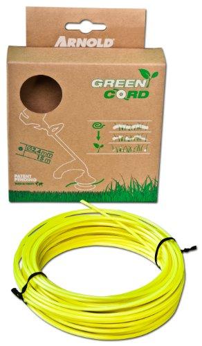 Arnold, Filo decespugliatore biodegradabile, 2,4 mm, 15 m - 1082-U2-2415