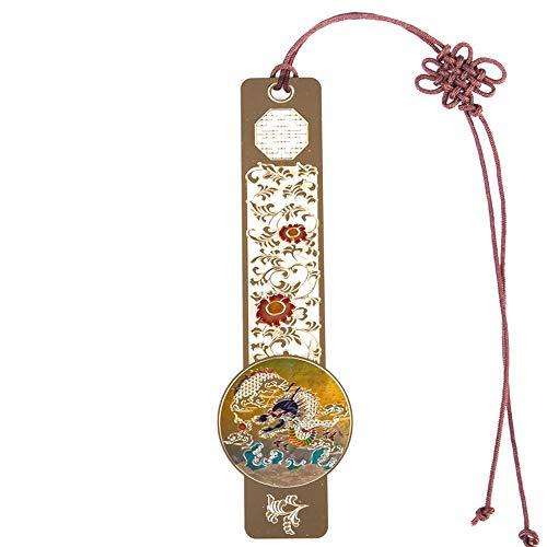 Chinese stijl bladwijzer metalen bladwijzer Holle bladwijzer creatieve bladwijzer geschikt voor alle soorten boeken Draak