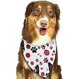 XCNGG Daisy Bandana Pet Sciarpe Bavaglini Lavabili Bandane con Fazzoletto Triangolare per Cani per Accessori per Cani Piccoli e Grandi