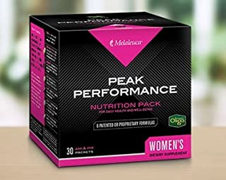 Melaleuca Peak Performance Nutrition Pack, Women's Formula, 30 AM & PM Packets