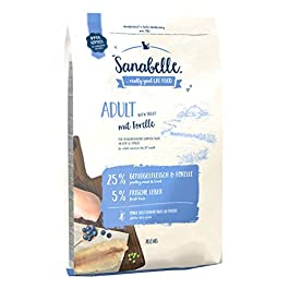 Sanabelle Adult with Trout Dry cat food for adult cats (from 12 months), 10.50 kg