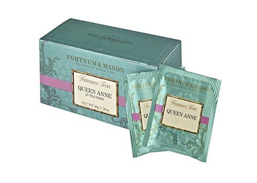 Fortnum & Mason British Tea, Queen Anne Blend, 25 Count Teabags (1 Pack)
