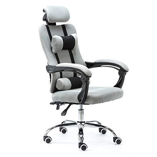 HHJJ Spielstuhl Bürostuhl für Einstellbarer professioneller Bürostuhl Ergonomischer Gaming-Sessel-Computer mit anhebbarem Bossnetz Rotatable -1669C7G0B (Color : 7)
