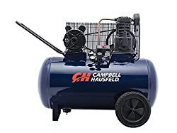 Air Compressor, 30-Gallon Horizontal Tank
