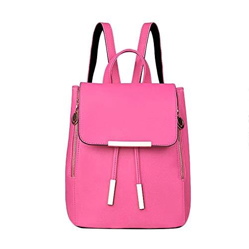 Bubbry dames meisjes PU leder schoudertas rugzak handtassen casual Travel