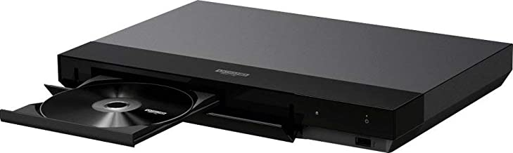 Sony 4K Blu Ray Player Ultra HD 3D Hi-Res Audio Wi-Fi and Bluetooth Built-in Blu-ray Player with A 4K HDMI Cable and Remote Control