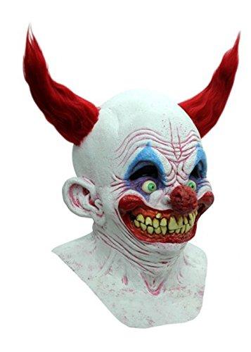 Struts Fancy Dress Masque de Clown Halloween Luxe Chingo