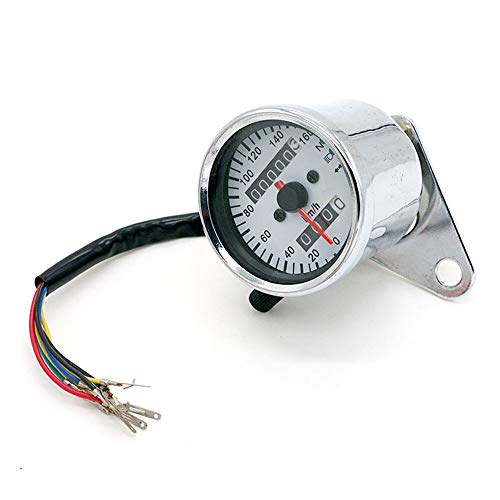 Odometer Spur Motorrad-Geschwindigkeitsmesser-Spur ATV-Fahrrad-Roller Dual Speed Meter mit LED-Anzeige DC 12V ZHQHYQHHX (Color : Model 2, Size : Kostenlos)