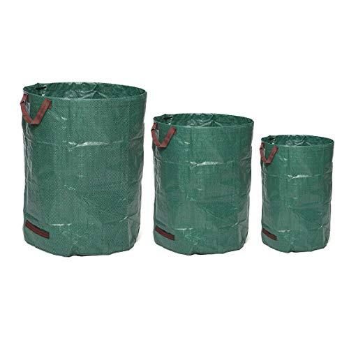 N\A Rechazar jardín Residuos Malo Grande Hierba Titular de la Caja del Filtro de Saco de Altas Prestaciones 300L / 500L Bolsas de Almacenamiento Reutilizables (Size : #2)