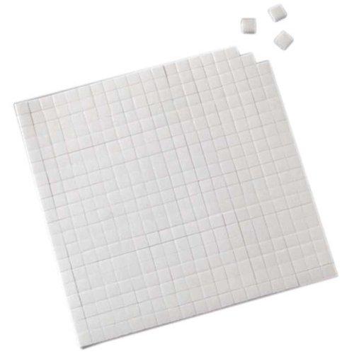Klebekissen weiß doppelseitig 560 Stück 5x5x2 mm