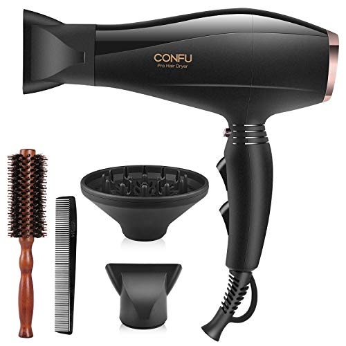 2300W Professional Hair Dryer with 2 Speed & 3 Heat Settings & Cool Shot...