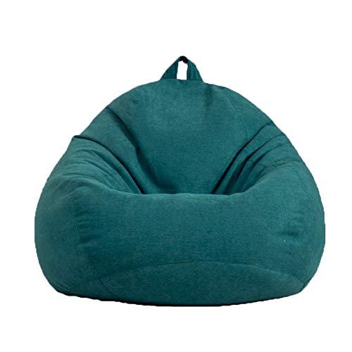 Tisi - Pouf per divano e poltrone, classico, per adulti e bambini, ideale per casa, giardino, salotto, soggiorno, interni ed esterni (verde)