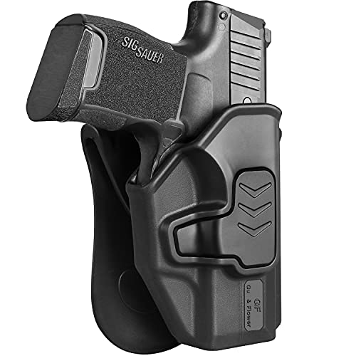 Sig P365 Holsters, OWB Paddle Holster Compatible with Sig...