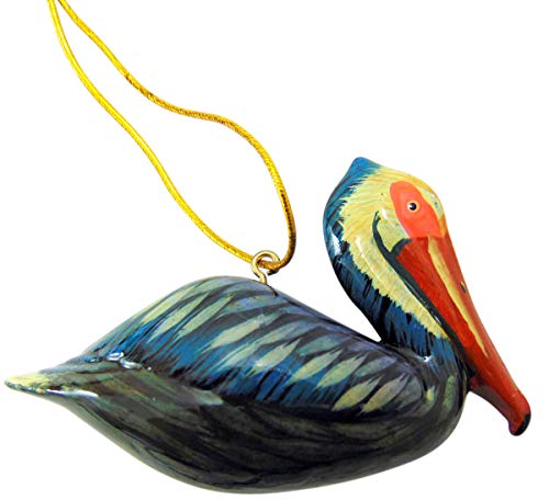 Westmon Works Pelican Christmas Ornament Realistic Bird Tree Hand Painted Decoration