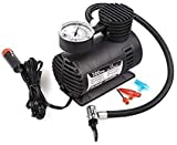 Dishan Air Compressor for Car and Bike 12V 300 PSI Tyre Inflator Air Pump for Motorbike,Cars,Bicycle,for Football,Cycle Pumps for Bicycle,car air Pump for tubeless (Black)