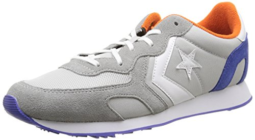 Converse Auckland Racer Ox Nylon/Suede - Zapatos, Unisex, Color Mouse/Grey Dust/Royal, Talla...