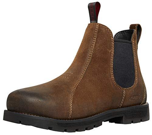 Keen Utility Women's Seattle Romeo Alloy Toe Work Boot, Oyster/Black, 8.5 W US