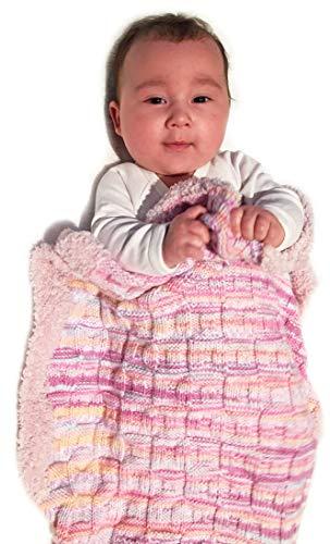 BellaLotta Strickanleitung Babydecke Arktis - Strukturdecke in kuschelig weicher Teddywolle - 60x80cm - auch digital