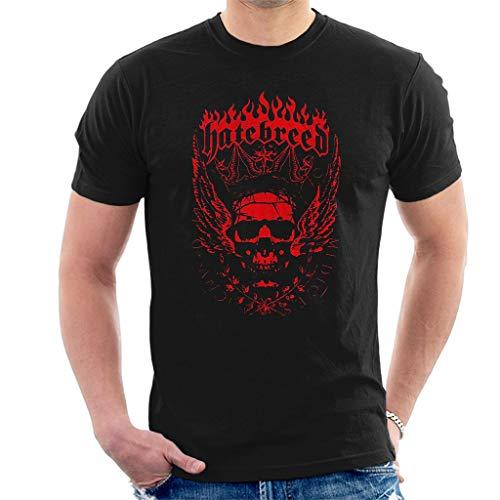 Hatebreed Crown Kurzarm Herren T-Shirt Schwarz Medium