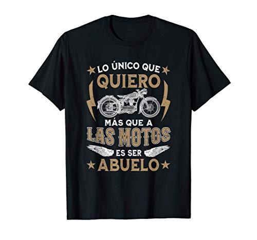 Hombre Lo Único Que Quiero Más Que A Las Motos Es Ser Abuelo Camiseta