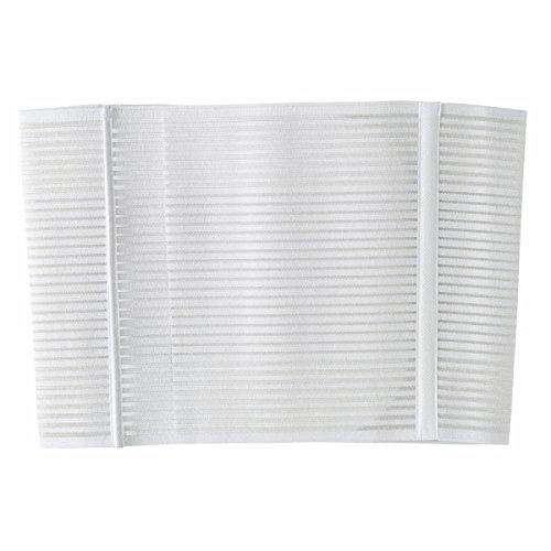 Chicco 00001136000030 - Faja postparto de velcro, talla L, color blanco