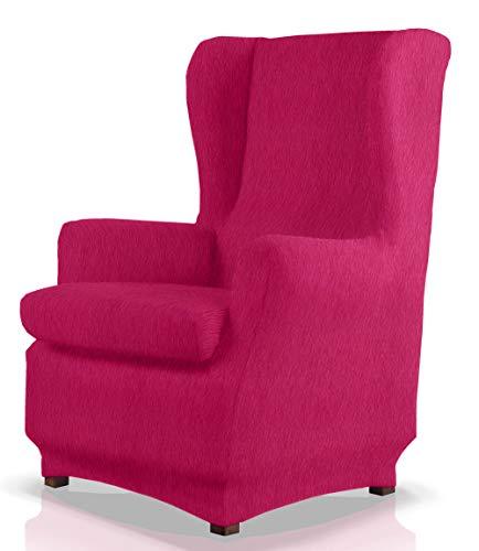 JM Textil Elastische Husse für Ohrensessel Haber Größe 1 Sitzer (Standard), Farbe 02
