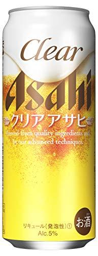 アサヒビール クリアアサヒ 缶500ml×24