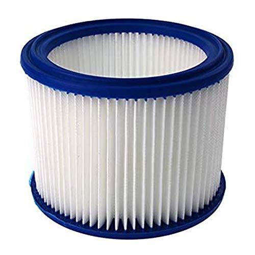 SDFIOSDOI Piezas de aspiradora Ajuste para Nilfisk Alto Attix 761 aspiradora Cylindrical Hepa Filter SF0186-14